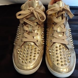 Jessica Simpson High Top Sneakers